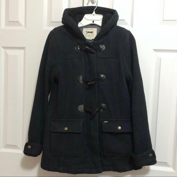 Obey Jackets & Blazers - OBEY Propaganda Navy Cotton Duffel Coat Size S